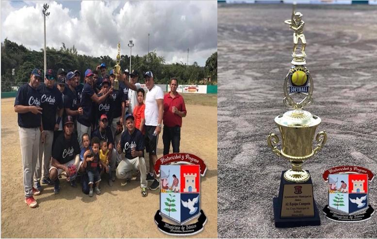 Campeones del 1er Clásico de Sofbol Ayuntamiento Municipal.