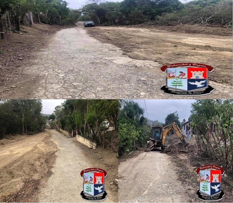 Continuamos con la ampliación de los caminos vecinales