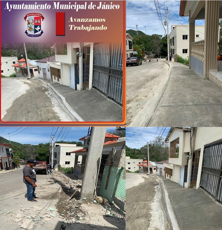 Concluye con éxito el remozamiento y construcción de la acera que conduce a la escuela Doctor Arturo Grullón