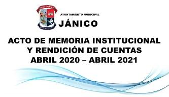 Resumen de Rendición cuentas 2020-2021.